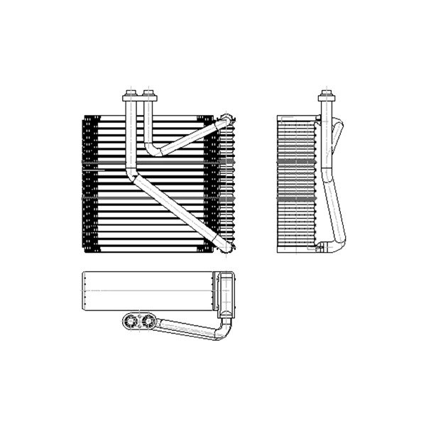 tyc u00ae  c evaporator core
