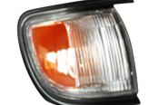 TYC® - Passenger Side Cornering / Side Marker Light Assembly (with Black Trim)
