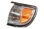 TYC® - Driver Side Cornering / Side Marker Light Assembly (with Chrome Trim)