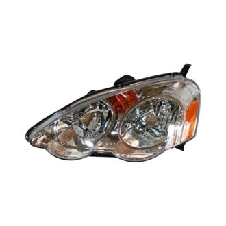 2003 Acura RSX Factory Replacement Headlights - CARiD.com