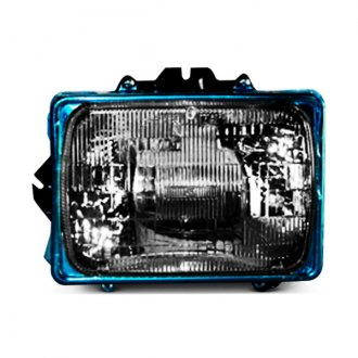 "TYC® - Replacement 7x6"" Rectangular Chrome Sealed Beam Headlight"