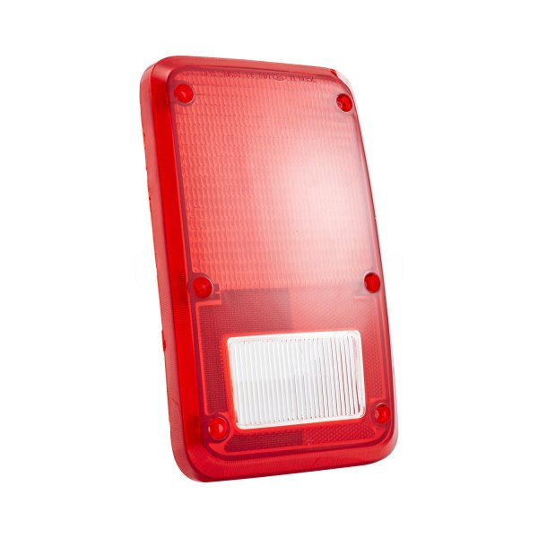 TYC® - Passenger Side Replacement Tail Light Lens