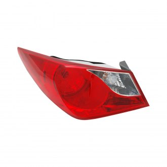 TYC® - Driver Side Outer NSF Certified Replacement Tail Light