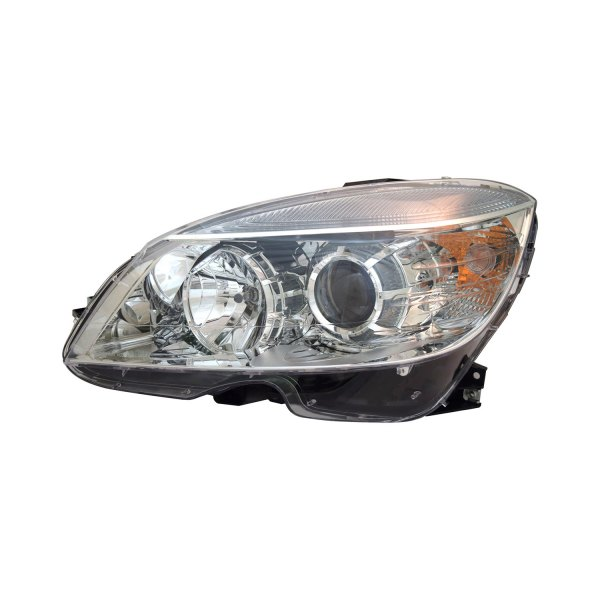 Service manual headlight removal 2009 mercedes benz c for Mercedes benz aftermarket headlights