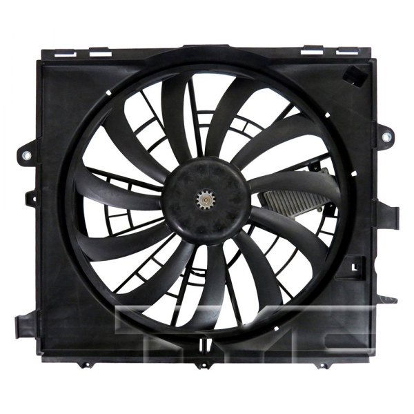 Dual Radiator and Condenser Fan Assembly TYC 622930