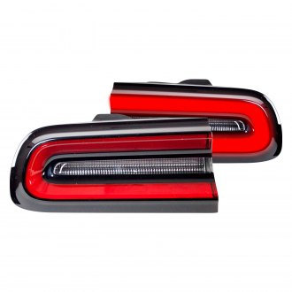 TYC® - Black Fiber Optic Tail Lights