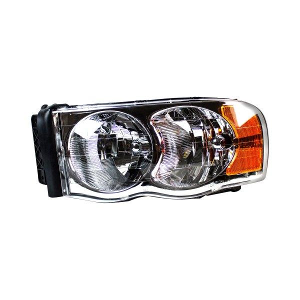 Dodge Replacement Headlights: Dodge Ram 1500 / 2500 / 3500 2003-2004 Replacement