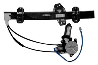 TYC® - Front Passenger Side Power Window Motor and Regulator Assembly (OEM)