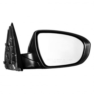TYC® - Passenger Side Power View Mirror (Foldaway, Non-Heated)