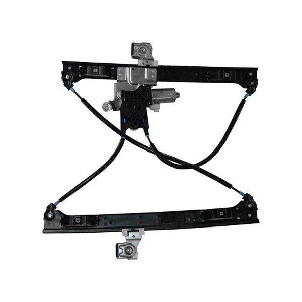 tyc chevy trailblazer 2007 2009 power window motor and. Black Bedroom Furniture Sets. Home Design Ideas