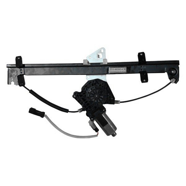 Tyc 660220 rear driver side power window regulator and for 2001 dodge durango window off track