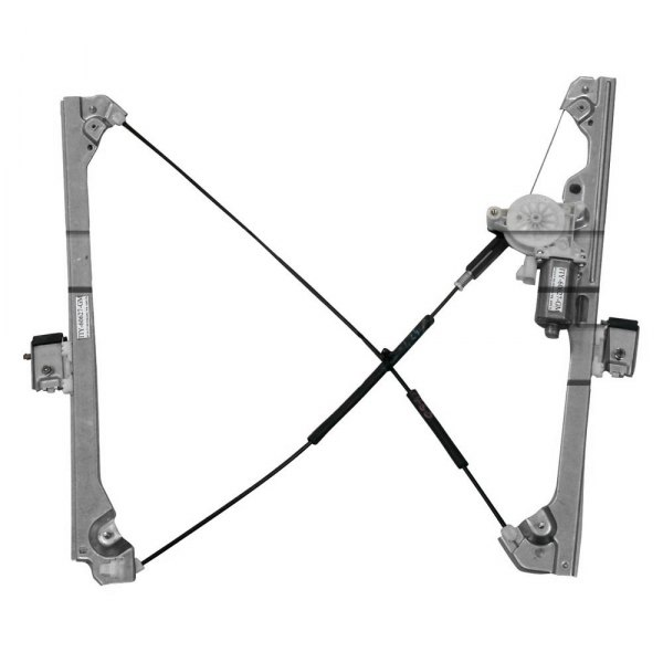 TYC® - Front Driver Side Power Window Regulator and Motor Assembly