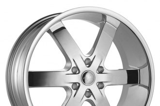 "U2® - 55S-B Chrome (22"" x 9.5"", +30 Offset, 6x139.7 Bolt Pattern, 78.1mm Hub)"