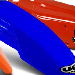 UFO Plast® - Rear Red Fender