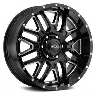 ULTRA® - 203BM HUNTER Gloss Black with Milled Accents and Clear Coat
