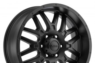 ULTRA® - 203SB HUNTER Satin Black with Clear Coat - 6 Lugs