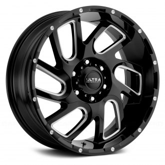 ULTRA® - 221BM CARNAGE Gloss Black with Milled Accents and Clear Coat