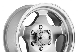 "ULTRA® - 51K Silver with Machined Face and Lip (16"" x 8"", +25 Offset, 5x114.3 Bolt Pattern, 83mm Hub)"