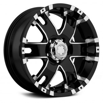 ULTRA® - BARON 201B Gloss Black with Diamond Cut Accents