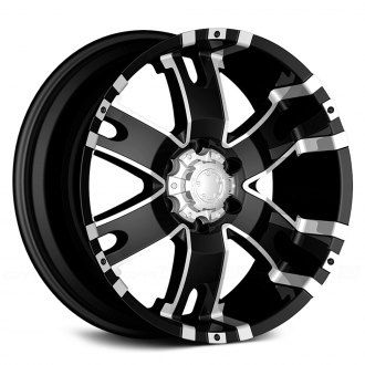ULTRA® - BARON 202B Gloss Black with Diamond Cut Accents