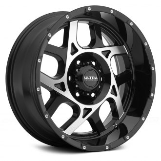 ULTRA® - COLOSSUS 250U Gloss Black with Diamond Cut Face