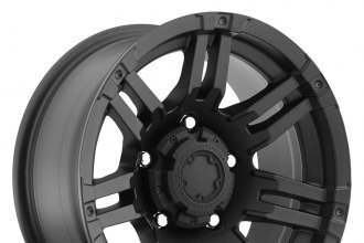 "ULTRA® - GAUNTLET 238B Matte Black (17"" x 9"", +20 Offset, 5x139.7 Bolt Pattern, 106.5mm Hub)"