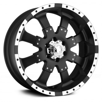 ULTRA® - GOLIATH 224B Matte Black with Diamond Cut Flange