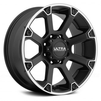 ULTRA® - SPLINE 245SB Satin Black with Diamond Cut Flange
