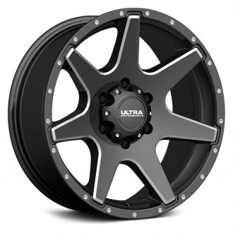 ULTRA® - TEMPEST 205BM Gloss Black with Milled Accents and Clear Coat