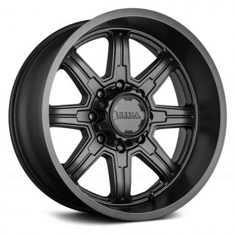 ULTRA® - 229 MENACE Satin Black with Clear Coat