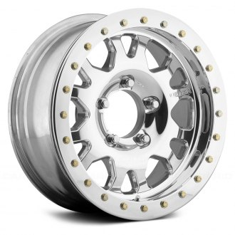 ULTRA® - 101 FORGED XTREME TRUE BEAD-LOCK Chrome with Polished Bead Ring