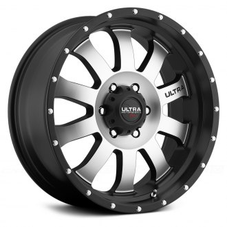 ULTRA® - X105 XTREME Satin Black with Diamond Cut Face