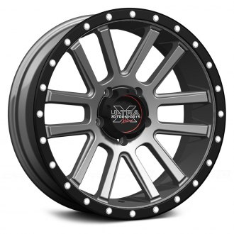 ULTRA® - XTREME 107GN Satin Graphite with X-Lok Lip and Clear Coat