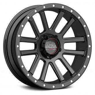 ULTRA® - XTREME 107SB Satin Black with X-Lok Lip and Clear Coat