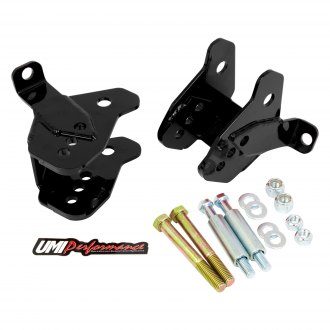UMI Performance® - Rear Lower Control Arm Relocation Brackets
