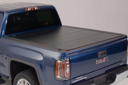 UnderCover® Ultra FLEX™ Hard Tri-Fold Tonneau Cover, Storage Box and Lighting System (Full HD)
