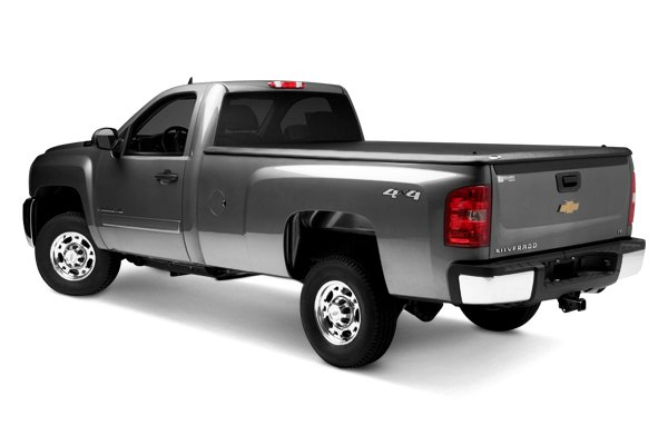 UnderCover® - Classic™ Black Hinged Tonneau Cover, Closed