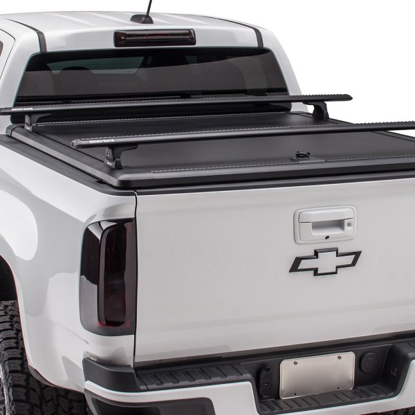 UnderCover® - Ridgelander™ Hinged Tonneau Cover with Rack
