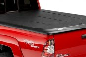 UnderCover® - SE™ Black Hinged Tonneau Cover, Closed