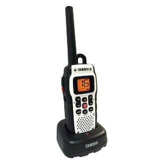 Uniden® - Handheld Floating Two-Way VHF Radio