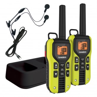 Uniden® - Two-Way Radios with Charger and Headsets