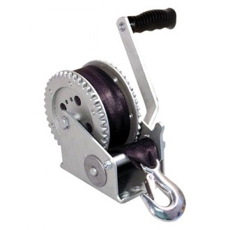 SeaSense® - DD Series Trailer Winch with Strap