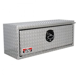 Unique Truck Accessories® - Brute™ HD Standard Single Door Underbody Tool Box with Rear Angle