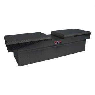 Unique Truck Accessories® - Brute™ Standard Dual Lid Gull Wing Crossover Tool Box