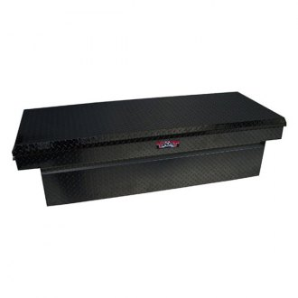 Unique Truck Accessories® - Brute™ Wide Shallow Single Lid Crossover Tool Box