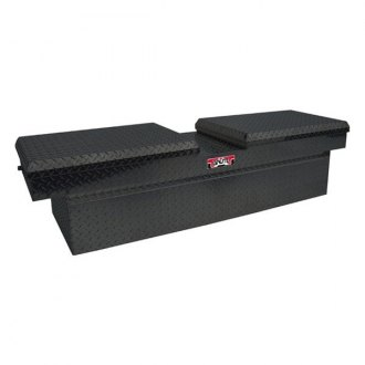 Unique Truck Accessories® - Brute™ Deep Dual Lid Gull Wing Crossover Tool Box