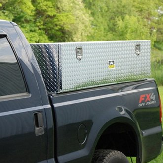 Unique Truck Accessories® - Brute™ Standard Two Doors TopSider Tool Box