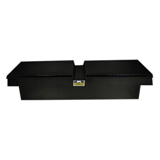 Unique Truck Accessories® - Brute™ Gull Wing Lid Standard Cross Over Tool Box