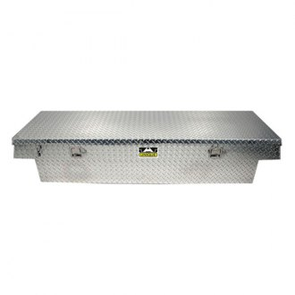 Unique Truck Accessories® - Wide Single Lid Crossover Tool Box