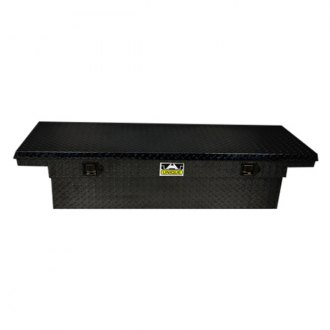 Unique Truck Accessories® - Brute™ Low Profile Wide Single Lid Crossover Tool Box